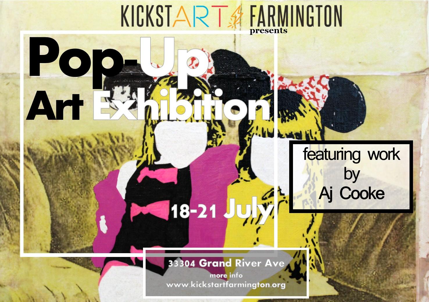 Pop In to a Pop-Up Art Exhibit