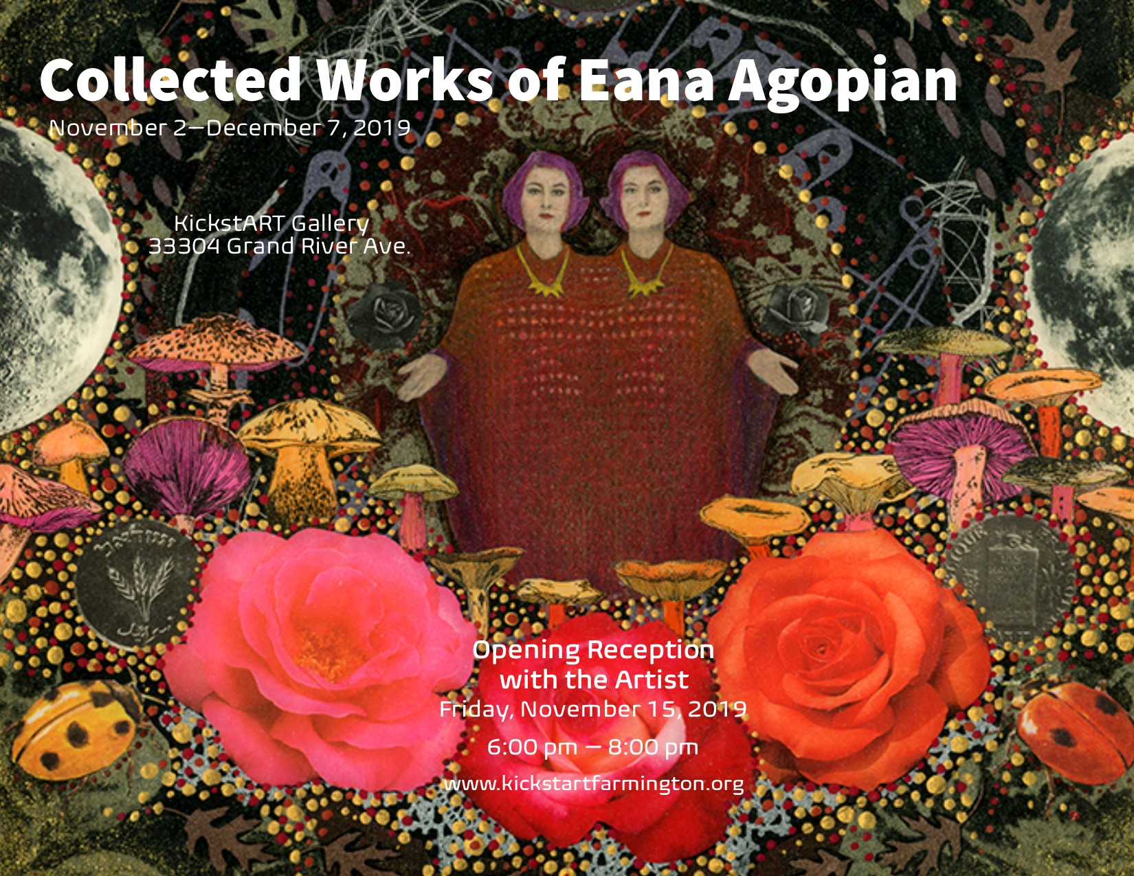 "Opening Reception for Exhibition ""Collected Works of Eana Agopian"""