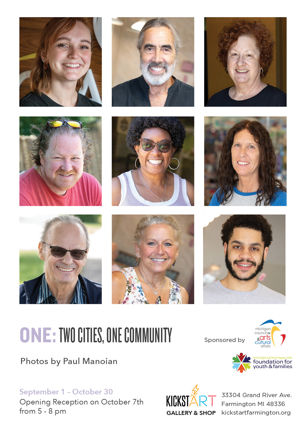 ONE: Two Cities, One Community at KickstART Gallery